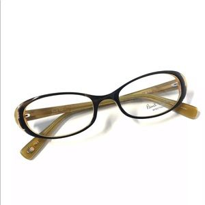 Paul Smith Eyeglasses Olive Brown  New Authentic